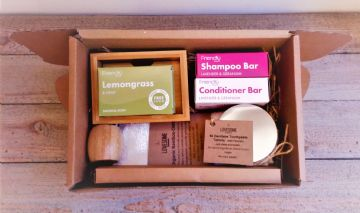 Plastic Free Bathroom Set
